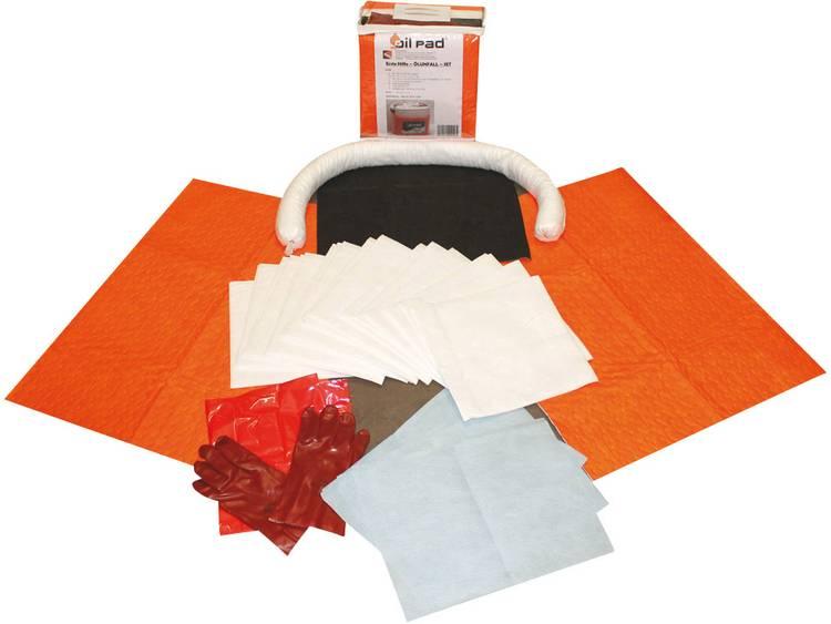 Set voor ongelukken met olie Oil Pad Erste Hilfe Set 24016 (l x b x h) 32 x 32 x 15 cm