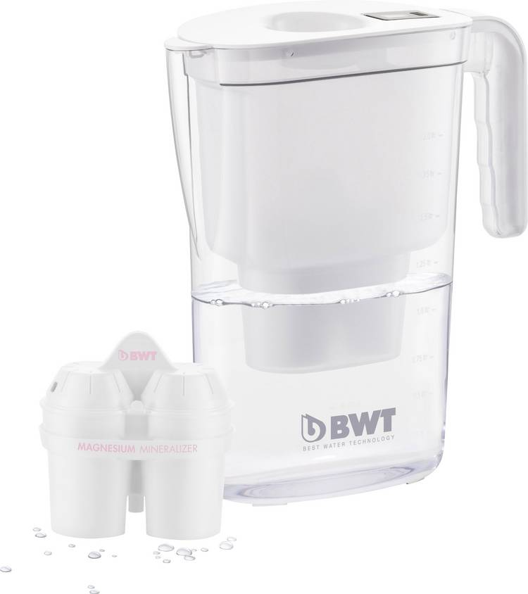 Image of Waterfilter BWT VIDA weiß 0815480 2.6 l Wit