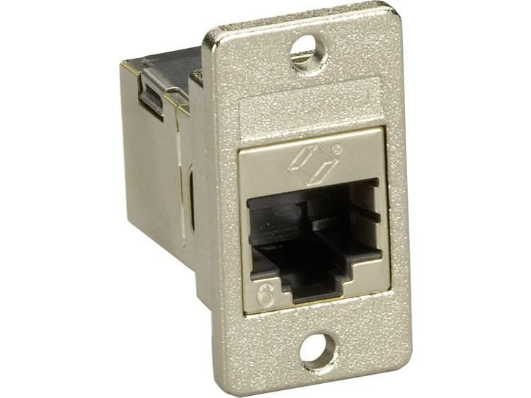 Black Box RJ45 koppelstuk CAT 6 [1x RJ45-bus - 1x RJ45-bus] Zilver