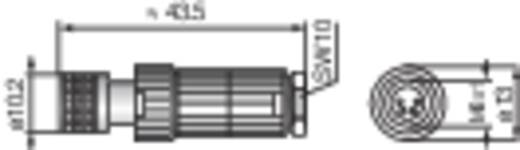 Hirschmann 933 367-100 ELKA 4008 V Aanpasbare M8-connector voor sensoren (MiniQuick) Uitvoering (algemeen) Leidingsdoos
