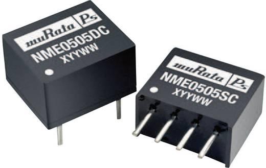Murata Power Solutions NME0512DC DC/DC-converter, print 5 V/DC 12 V/DC 83 mA 1 W Aantal uitgangen: 1 x