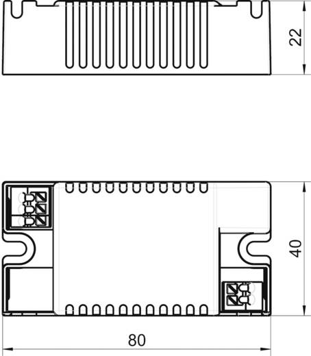 LT10-350 LED-driver 10 W 350 mA 32 V/DC Voedingsspanning (max.): 288 V/DC, 264 V/AC