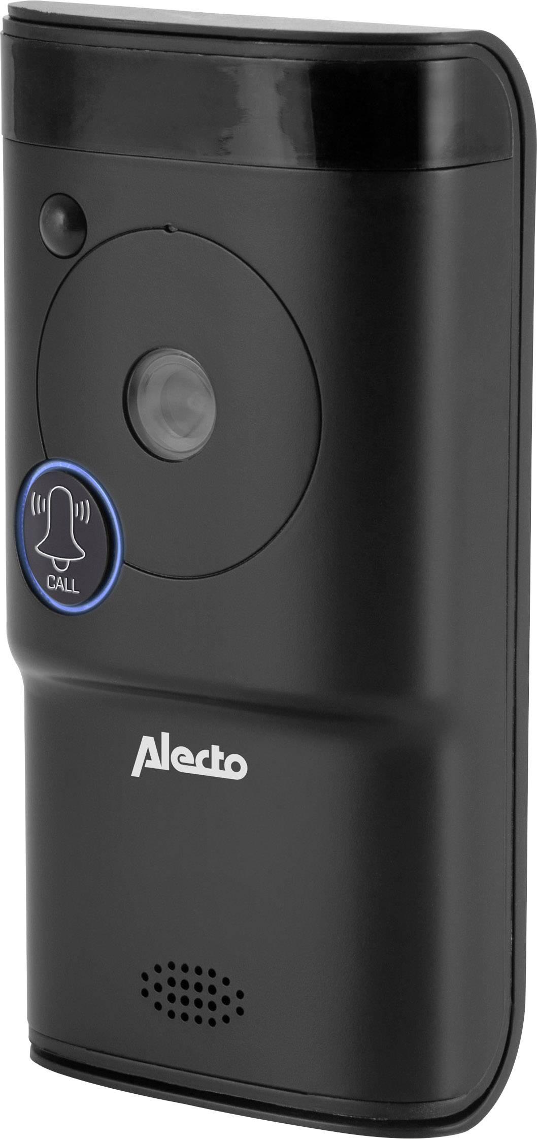 Alecto Dvc 1000 Wifi Deurbel Met Video Wifi Buitenunit Voor Zwart