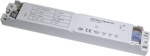 LT40-36/1050 LED-transformator, LED-driver Constante spanning, Constante stroomsterkte 1050 mA 15 - 36 V/DC