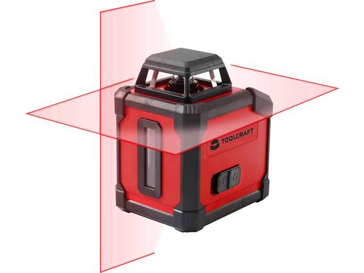 Lijnlaser 360° Zelfnivellerend TOOLCRAFT HLL360 Reikwijdte (max.): 10 m Kalibratie: Fabrieksstandaard (zonder certificaat) kopen