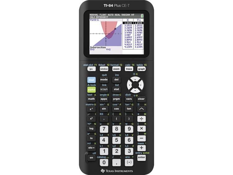 Texas Instruments-grafische rekenmachine TI-84 Plus CE-T
