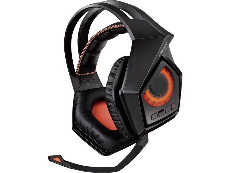 Gaming headset DECT, USB, 3.5 mm jackplug Draadloos Asus ROG Strix Wireless Over Ear Zwart