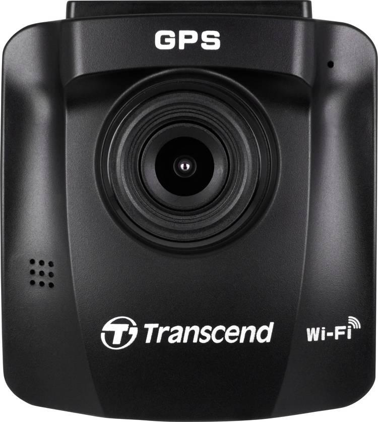 Transcend DrivePro 230 Dashcam Kijkhoek horizontaal (max.): 130  12 V. 24 V Microfoon. Display