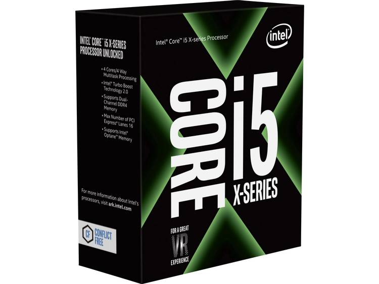 Processor (CPU) WOF Intel Core i5 i5-7640X 4 x 4.0 GHz Quad Core Socket: Intel® 2066 112 W