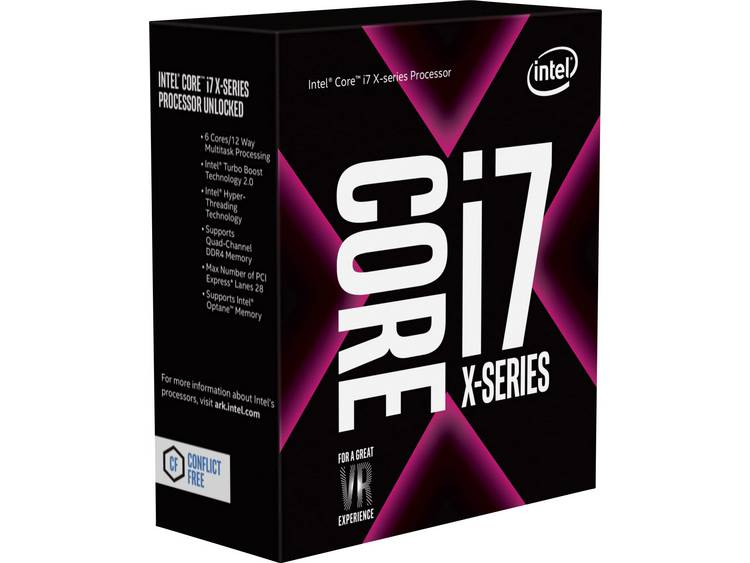 Processor (CPU) WOF Intel Core i7 i7-7800X 6 x 3.5 GHz Hexa Core Socket: Intel® 2066 140 W