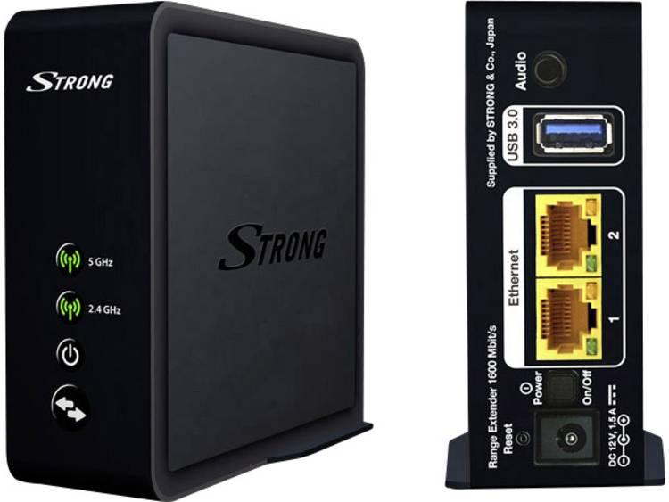 Strong Range Extender 1600 WiFi versterker 1.6 Gbit/s 2.4 GHz, 5 GHz