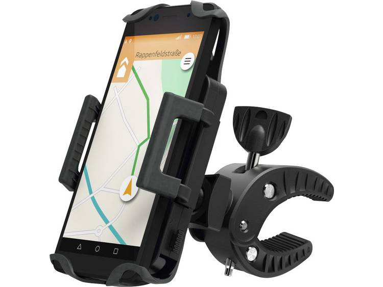 Hama Smartphonehouder fiets 50-90mm 360° roteerbaar zwart