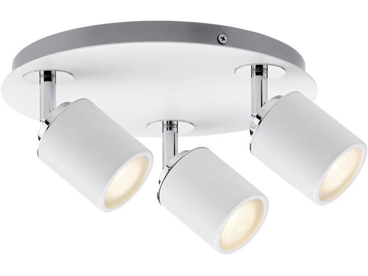 Badkamer plafondlamp LED GU10 30 W Paulmann Tube 66719 Wit, Chroom