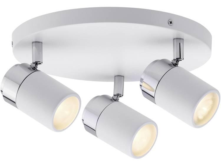 Badkamer plafondlamp LED GU10 30 W Paulmann Zyli 66712 Wit, Chroom