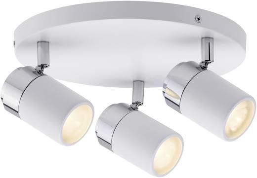 plafondlamp LED GU10 30 W Paulmann Zyli 66712 Wit, Chroom
