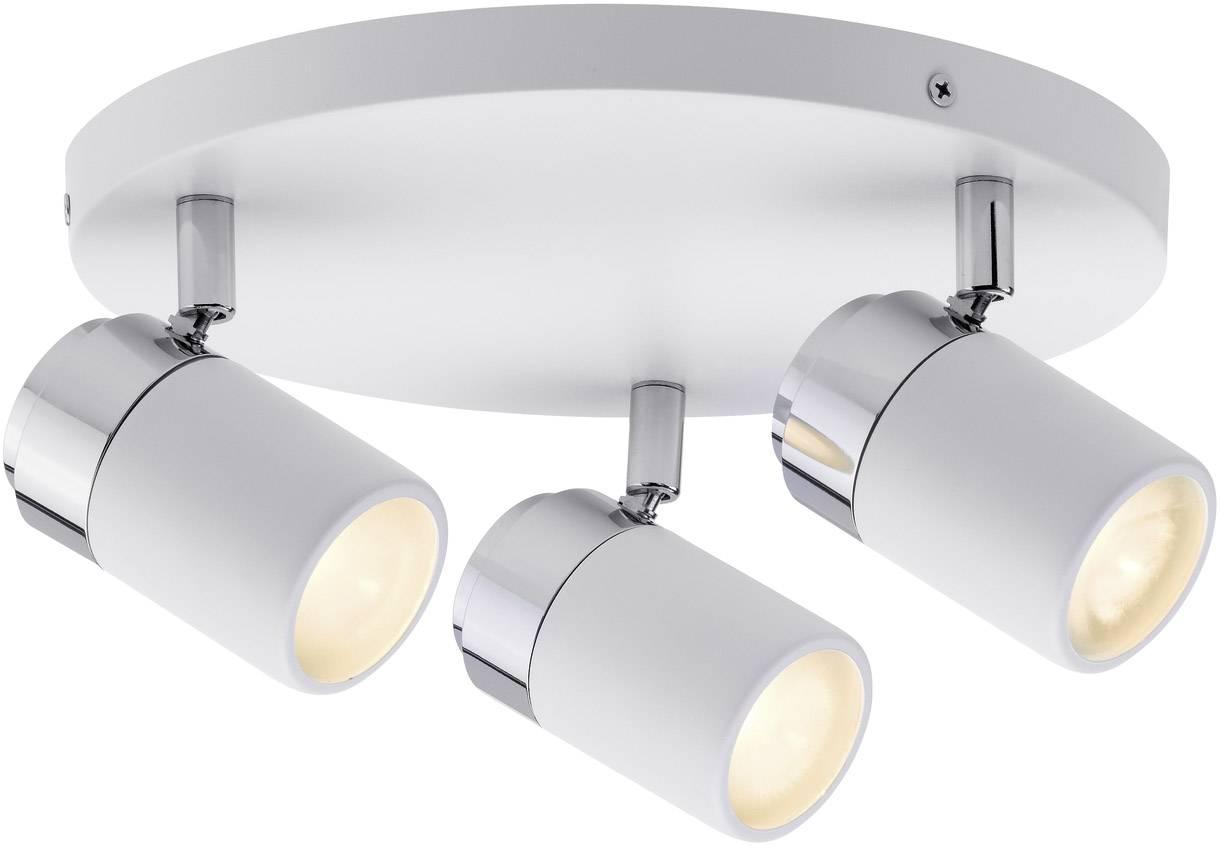 Badkamer Plafondlamp Led : Badkamer plafondlamp led gu w paulmann zyli wit chroom