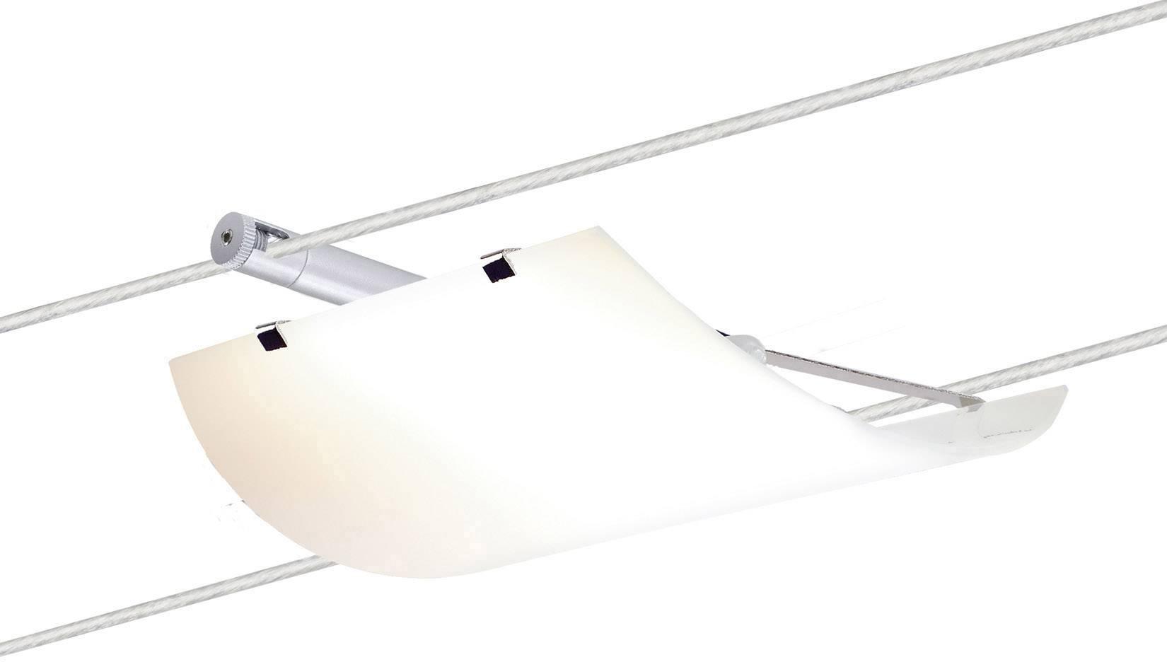 paulmann 12v kabelsysteem lamp universeel g4 20 w led chroom mat satijn