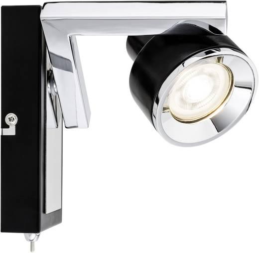 Paulmann Turn 66670 Wandschijnwerper GU10 10 W LED Zwart, Chroom