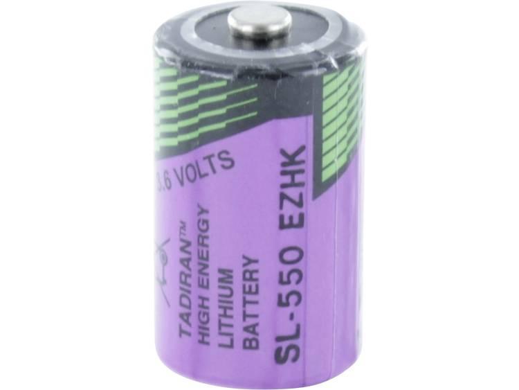 Tadiran Batteries SL 550 S Speciale batterij 1/2 AA Geschikt voor hoge temperaturen Lithium 3.6 V 900 mAh 1 stuk(s)