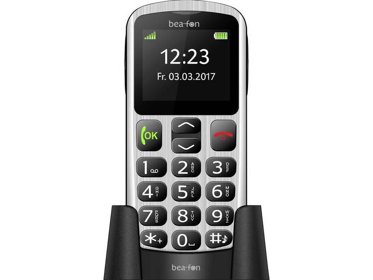 Beafon SL250 2  93g Zilver Instapmodel telefoon