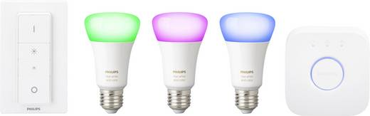 Philips Lighting Hue Starterkit white and color ambiance E27 10 W RGBW