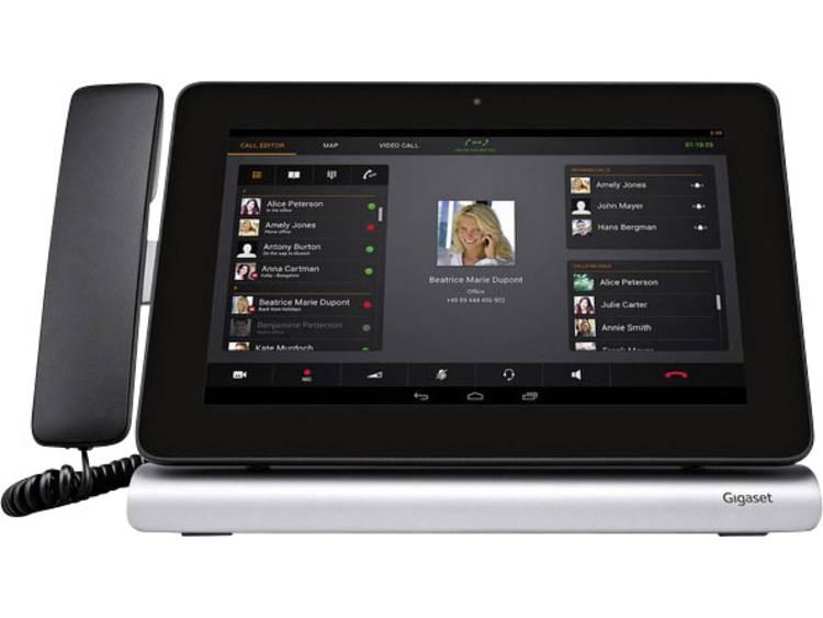 Gigaset Pro Maxwell 10S Bedrade VoIP telefoon Zwart/zilver