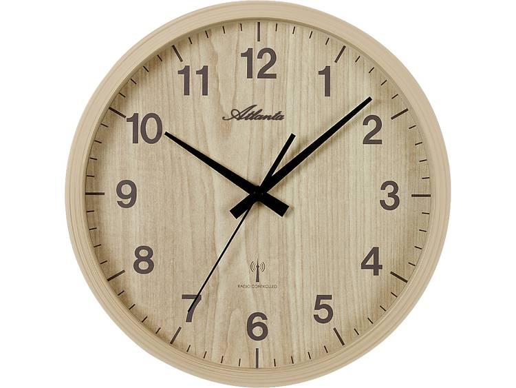 Atlanta Uhren 4438 30 Wandklok Zendergestuurd 265 mm Els