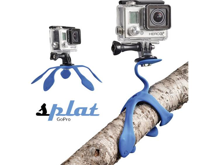 Miggo Splat Flexible Tripod blauw voor Action Cam