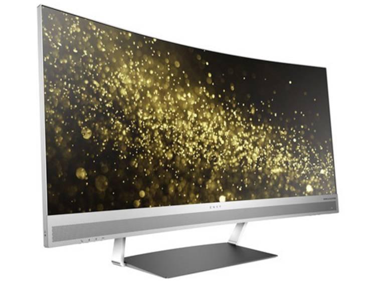 HP Envy 34c LED-monitor 86.4 cm (34 inch) Energielabel C (A++ – E) 3440 x 1440 pix WQHD 6 ms HDMI, DisplayPort, USB-C, USB 3.0, Audio, stereo (3.5 mm jackplug)