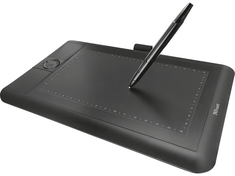 Trust Panora Grafisch USB-tablet Zwart