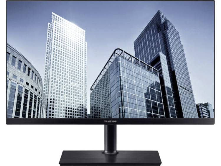 LED-monitor 68.3 cm (26.9 inch) Samsung S27H850QFU Energielabel B 2560 x 1440 pix WQHD 4 ms HDMI, DisplayPort, Hoofdtelefoon (3.5 mm jackplug), USB-C