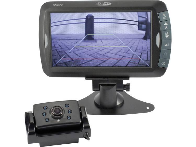 Caliber Audio Technology Draadloos achteruitrijcamera systeem 2 camera ingangen, Automatische witbalans, Diafragma F 2.0, Vrij verstelbare kogelcamera, Extra