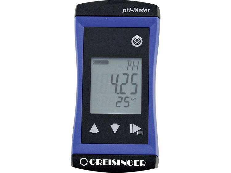 pH meter Greisinger G1500+GE 114 pH waarde 0.00 14.00 pH Kalibratie Fabrieksst