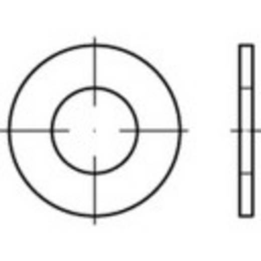 TOOLCRAFT 159242 Onderlegringen Binnendiameter: 43 mm Staal 50 stuks