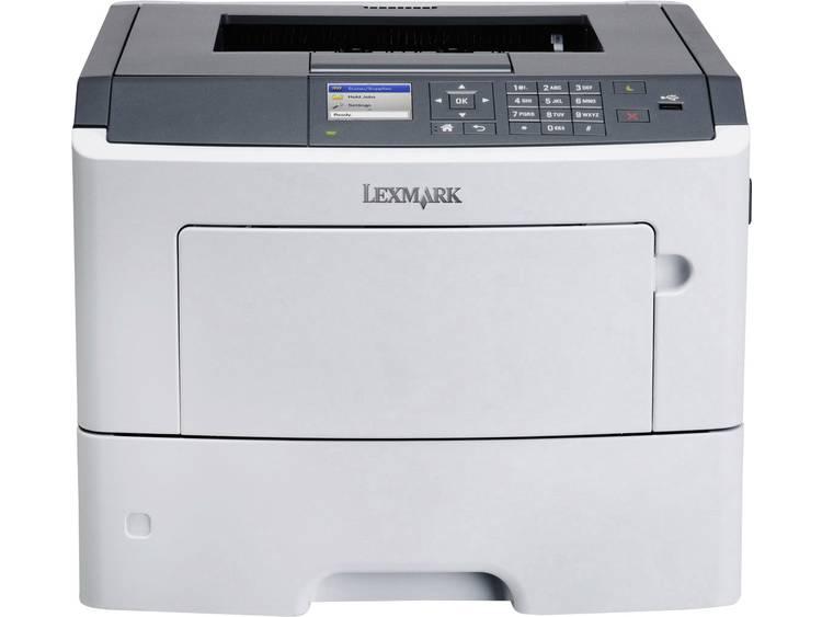Lexmark MS617dn Laserprinter A4 47 p/min 1200 x 1200 dpi Duplex, LAN