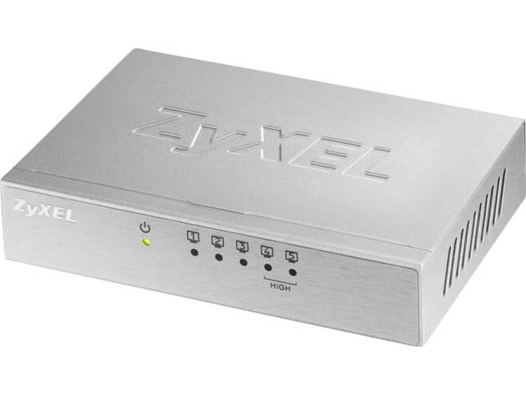ZyXEL 5x FE ES105A v3 Metall Netwerk switch RJ45 5 poorten