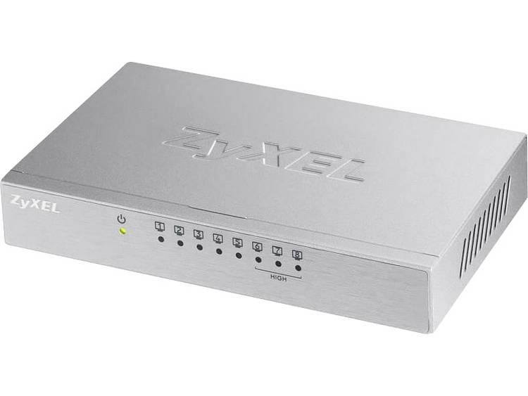 ZyXEL 8x FE ES108A v3 Metall Netwerk switch RJ45 8 poorten