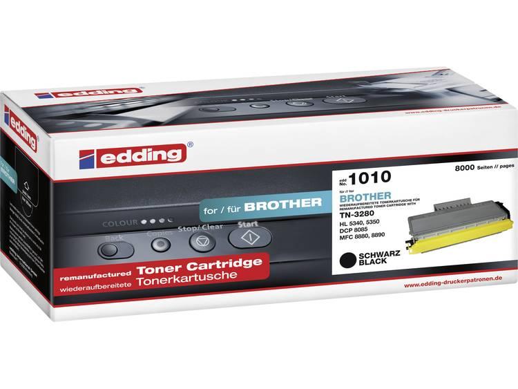 Edding Tonercassette vervangt Brother TN-3230, TN-3280 Compatibel Zwart 8000 bladzijden EDD-100
