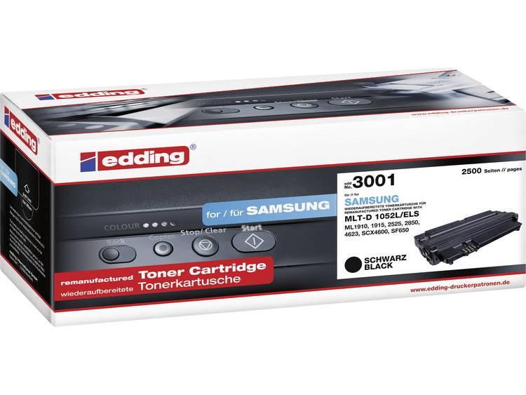 Edding Tonercassette vervangt Samsung MLT-D1052L Compatibel Zwart 2500 bladzijden EDD-3001