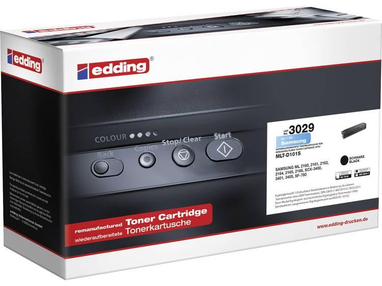 Edding Tonercassette vervangt Samsung MLT-D101S Compatibel Zwart 1500 bladzijden EDD-3029