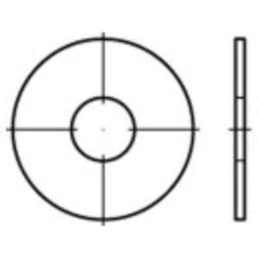 TOOLCRAFT 159279 Spatbordschijven Binnendiameter: 8.4 mm Staal galvanisch verzinkt 200 stuks