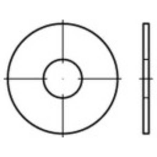 TOOLCRAFT 159282 Spatbordschijven Binnendiameter: 10.5 mm Staal galvanisch verzinkt 200 stuks