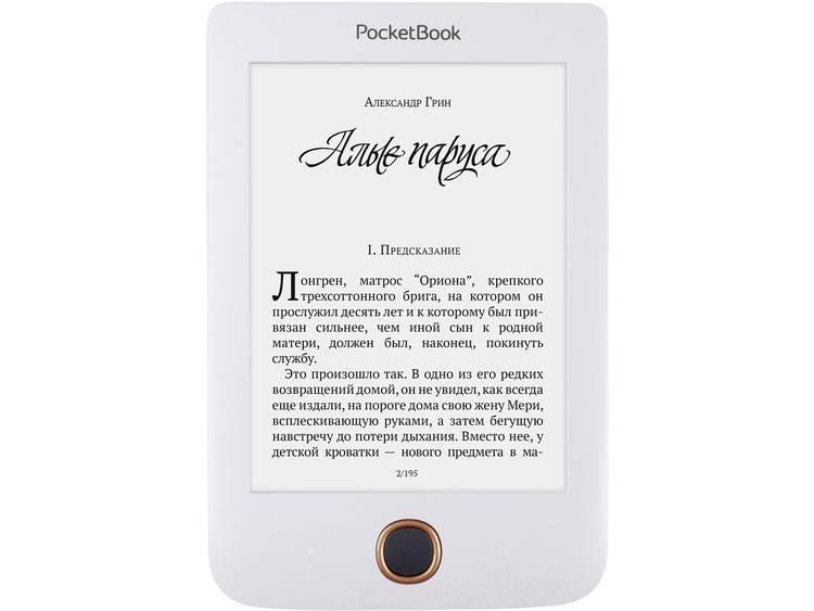 PocketBook Pocketbook Basic 3 white eBook-reader 6 inch (15.2 cm) Wit