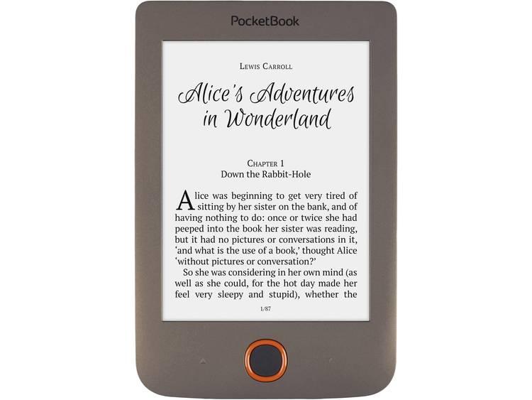 PocketBook Pocketbook Basic Lux darkbrown eBook-reader 6 inch (15.2 cm) Donkerbruin