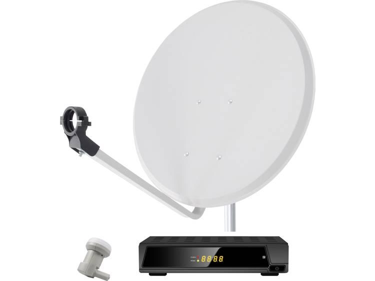 Satellietset met receiver Smart DA1-60E 60 cm