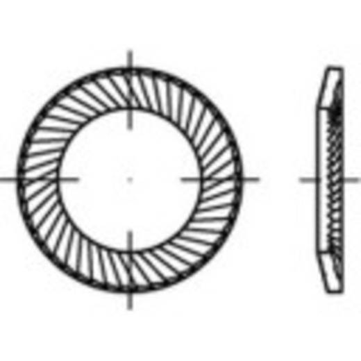 159368 Borgringen Binnendiameter: 8 mm Verenstaal verzinkt 250 stuks