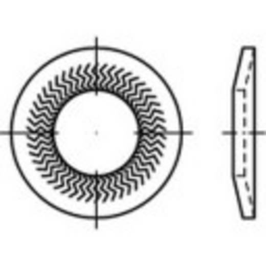 159403 Grendelschijven Binnendiameter: 12 mm Verenstaal verzinkt 100 stuks