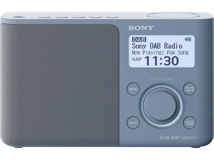 DAB+ Transistorradio Sony XDR-S61D AUX, DAB+, FM Blauw