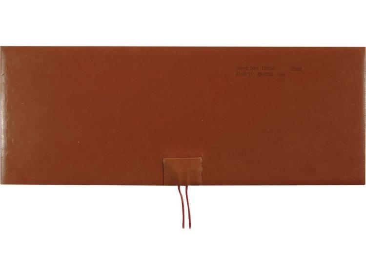 Thermo Silicone Verwarmingsfolie Zelfklevend 24 V/DC, 24 V/AC 142 W Veiligheidstype IPX7 (l x b) 340 mm x 130 mm