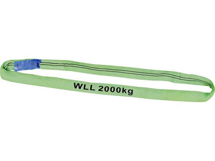 Rondstrop Petex 47202213 Werklast (WLL) 2 t 2 m Groen